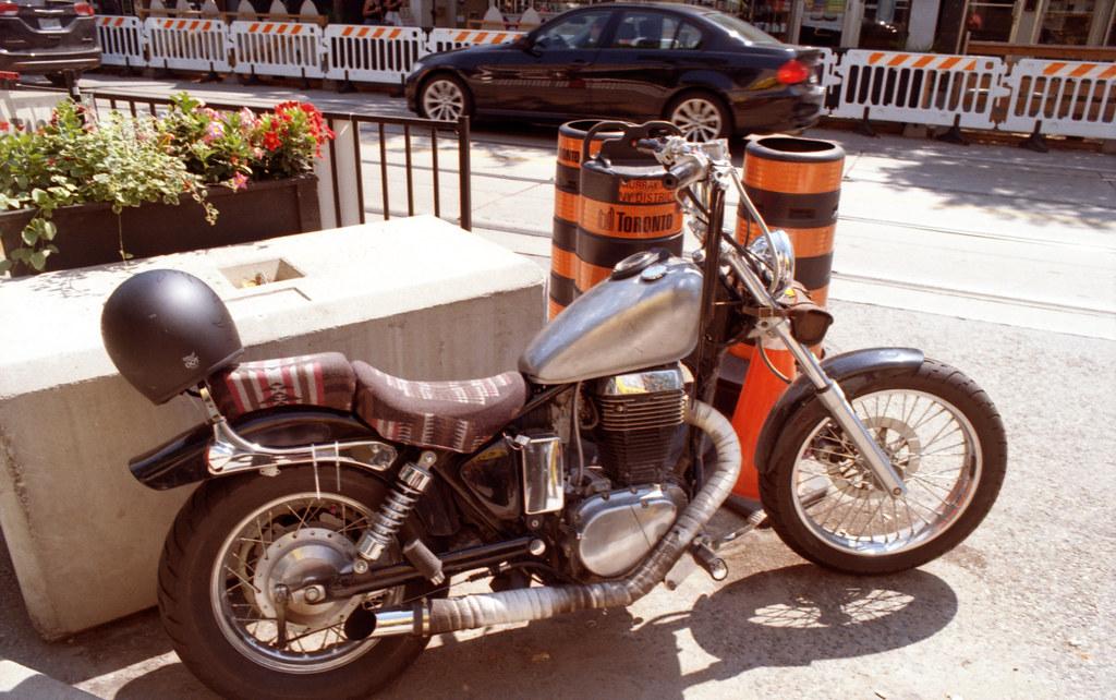 Motorbike with Patina