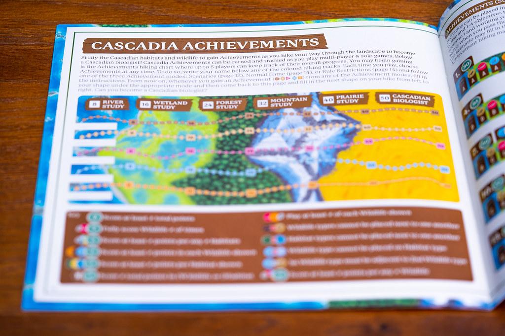 Cascadia boardgame juego de mesa