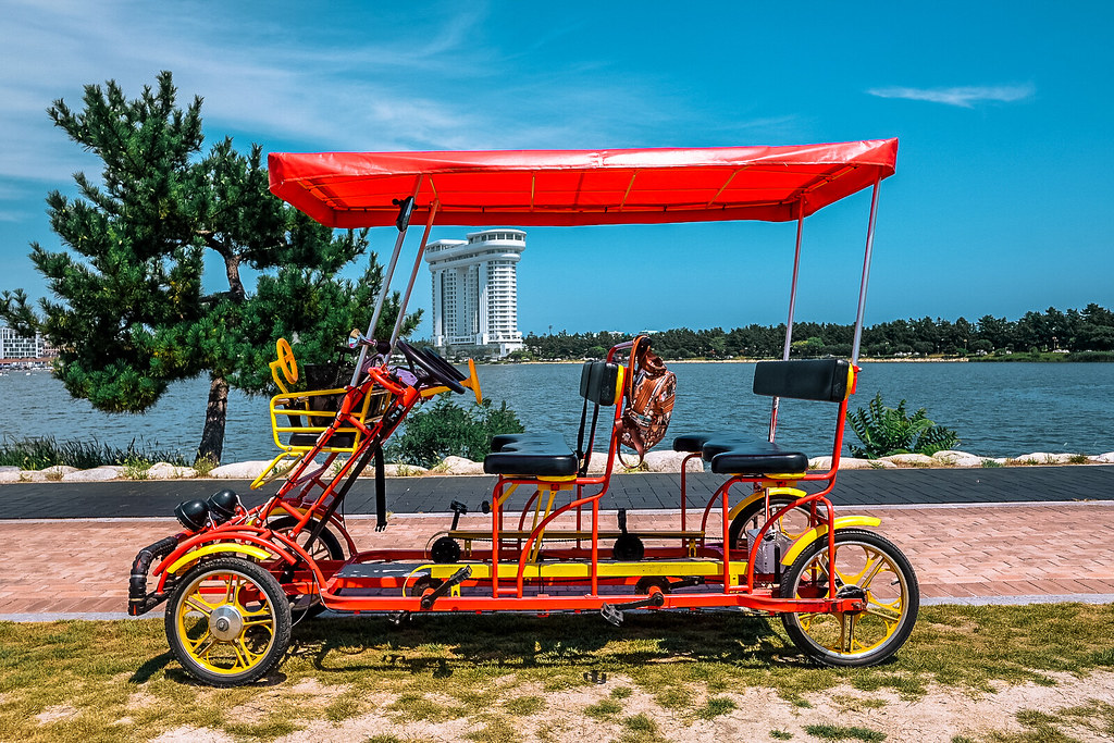 Gyeongpoho Lake and Bike Tour