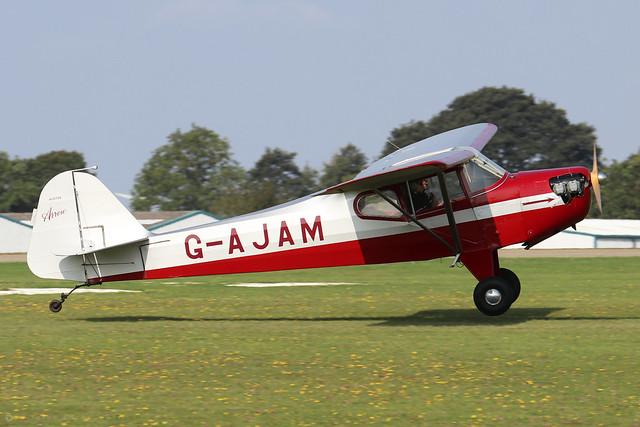 G-AJAM Auster J/2 Arrow c/n 2371  -  EGBK 5/9/21