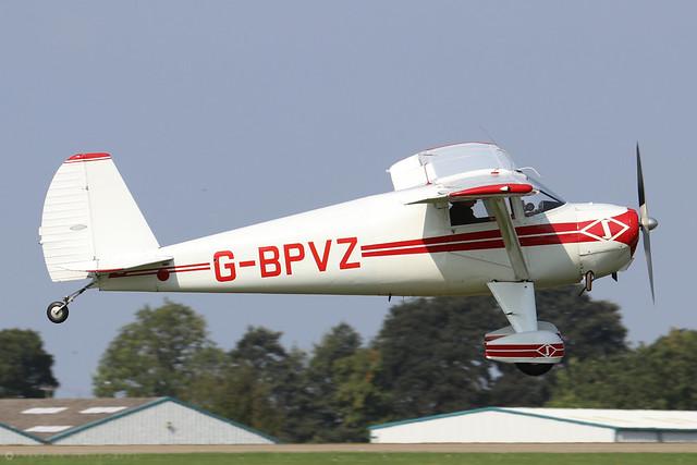 G-BPVZ Luscombe Silvaire 8E c/n 5565  -  EGBK 5/9/21