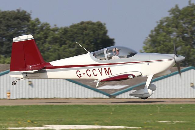 G-CCVM  -  Vans RV-7 A c/n PFA 323-14213  -  EGBK 5/9/21