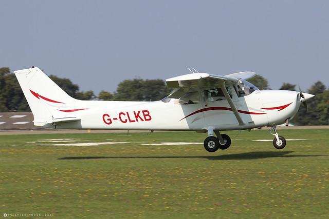 G-CLKB  -  Cessna 172N Skyhawk c/n 172-69903  -  EGBK 5/9/21