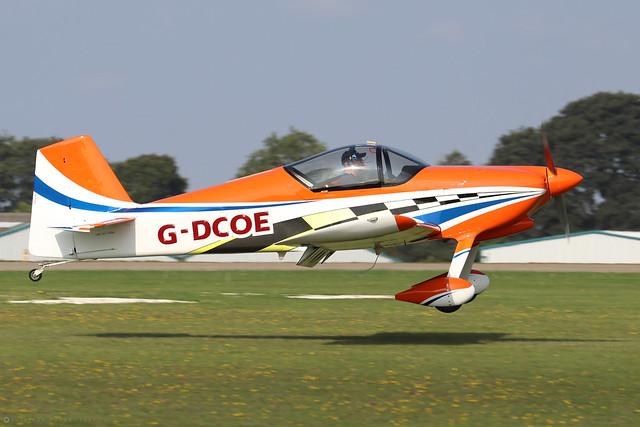 G-DCOE  -  Vans RV-6 c/n PFA 181-13280  -  EGBK 5/9/21