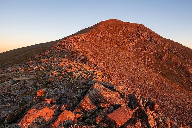 Rito Alto Peak Sunrise