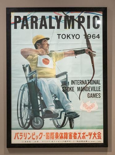 Paralympic poster crop 'Tokyo 1964: Designing Tomorrow' exhibition at Japan House London