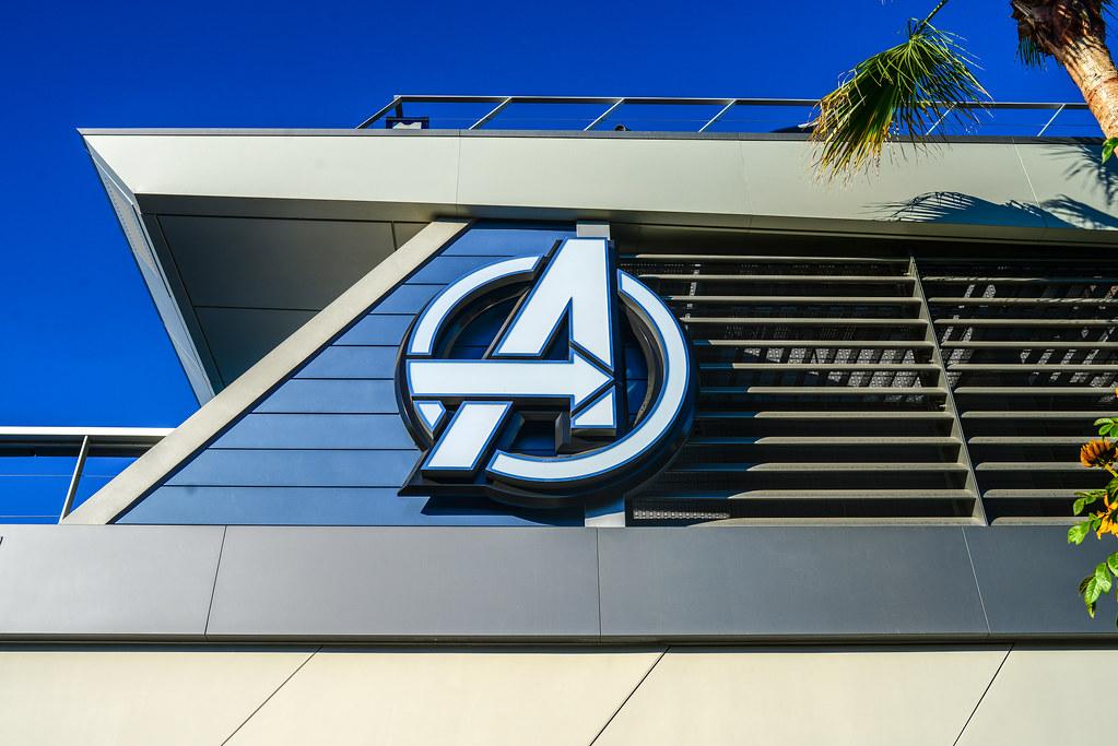 Avengers Campus logo DCA