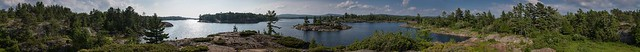(Please enlarge) July Afternoon on the Bay of Islands (360degrees)