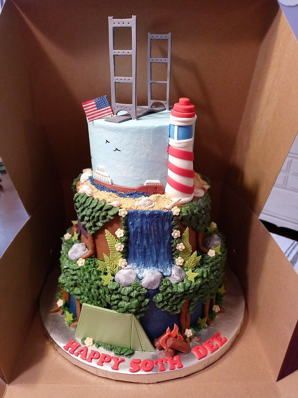 Cake by Shannon's Custom Cakes