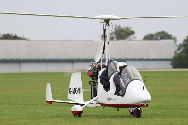 G-MGNI  -  M-16 Tandem Trainer C c/n 16-17-0804  -  EGBK 3/9/21