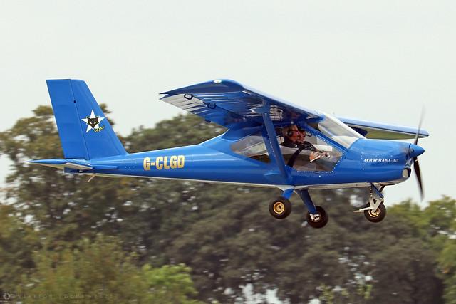 G-CLGD  -  Aeroprakt A-32 Vixxen c/n A32076  -  EGBK 3/9/21