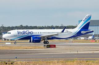 F-WWBU / VT-IIG Airbus A320-251N Indigo s/n 10602 * Toulouse Blagnac 2021 *