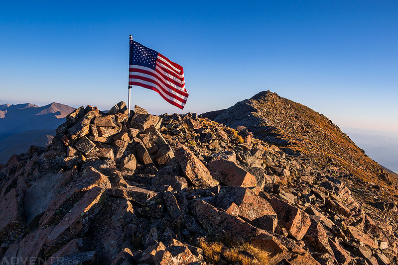 Rito Alto Peak Flag