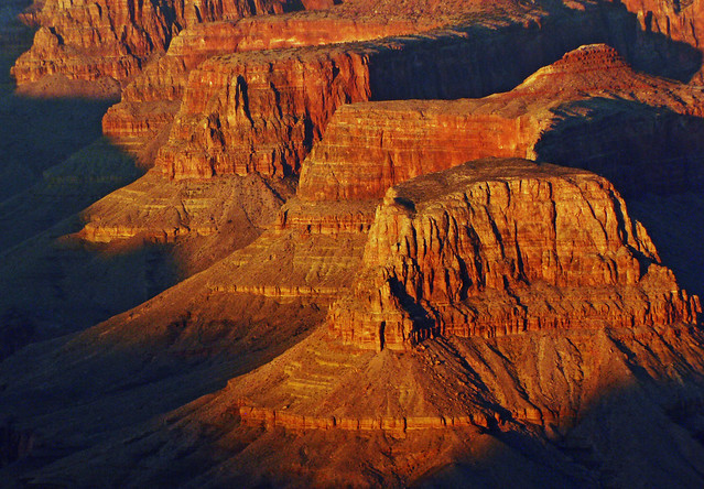 Last light in the Canyon.