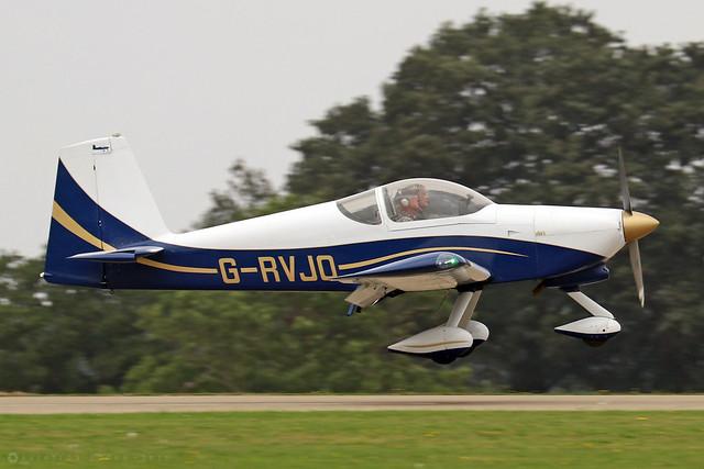 G-RVJO  -  Vans RV-9 A c/n PFA 320-13778  -  EGBK 3/9/21