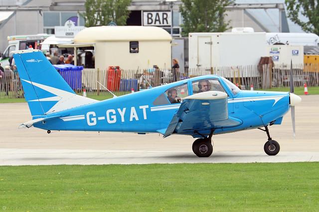 G-GYAT  -  Gardan GY80-180 Horizon c/n 136  -  EGBK 3/9/21