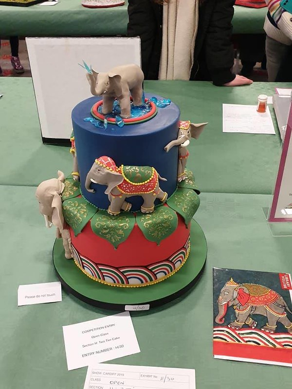 Cake by Welsh National Cake Show