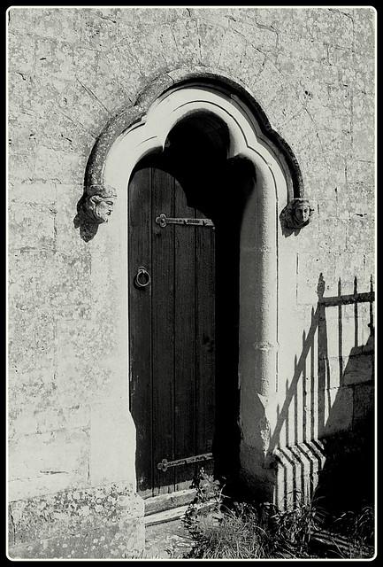 St James the Great, Sacristy door