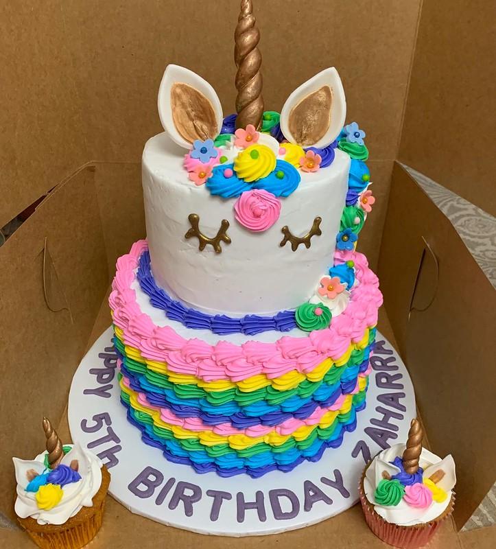 "Cake from Sweet Beginnings By ""Yaya"""