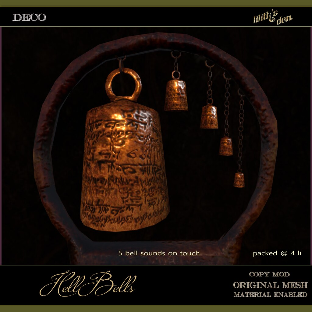 Lilith's Den - Hellbells