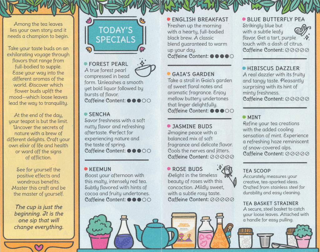 Nature's Apothecary - Leaflet (inside)