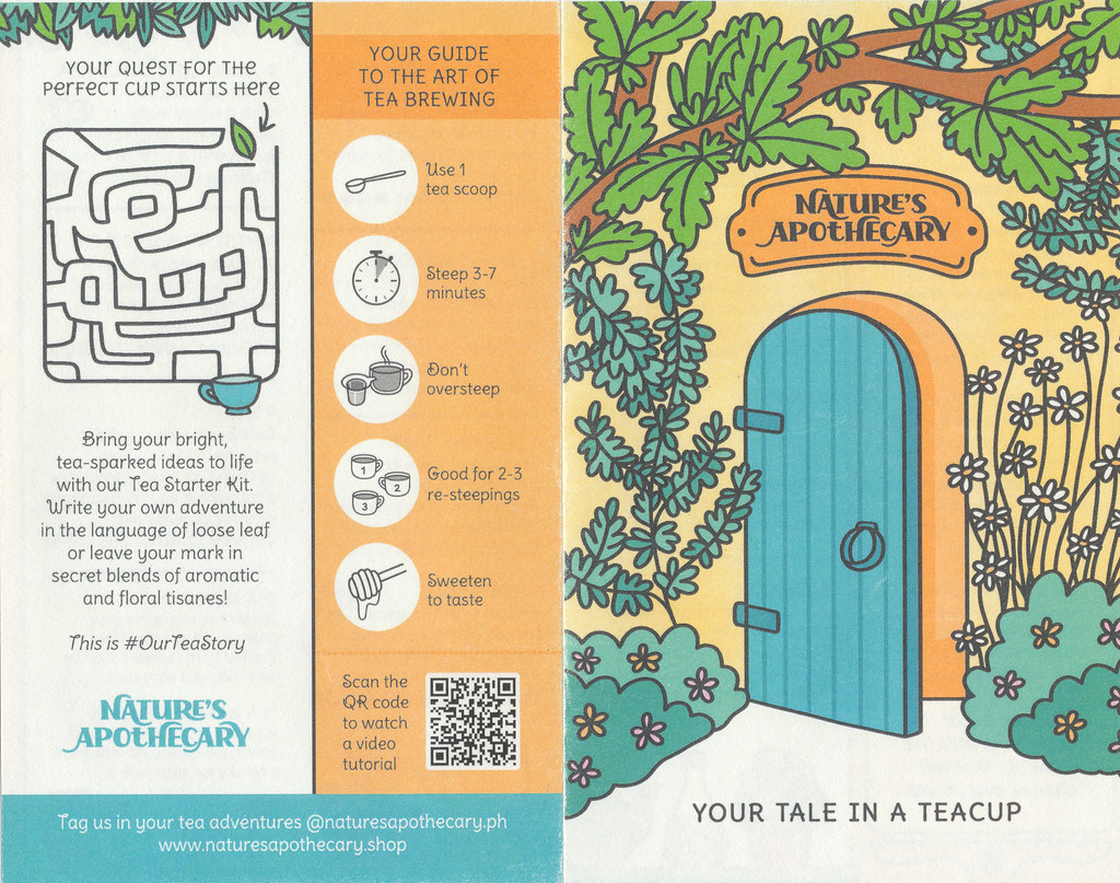 Nature's Apothecary - Leaflet (front and back)
