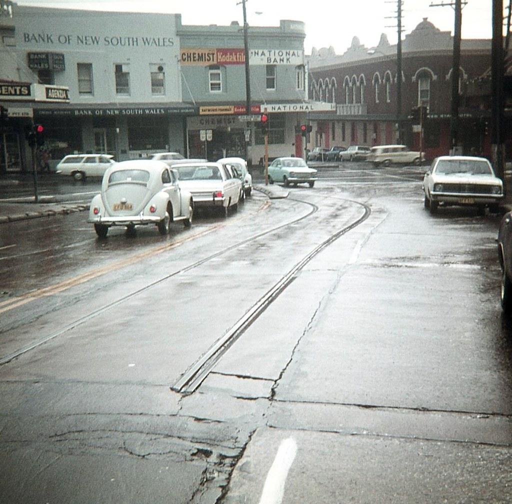 Remains of track, Petersham, Sydney, NSW.
