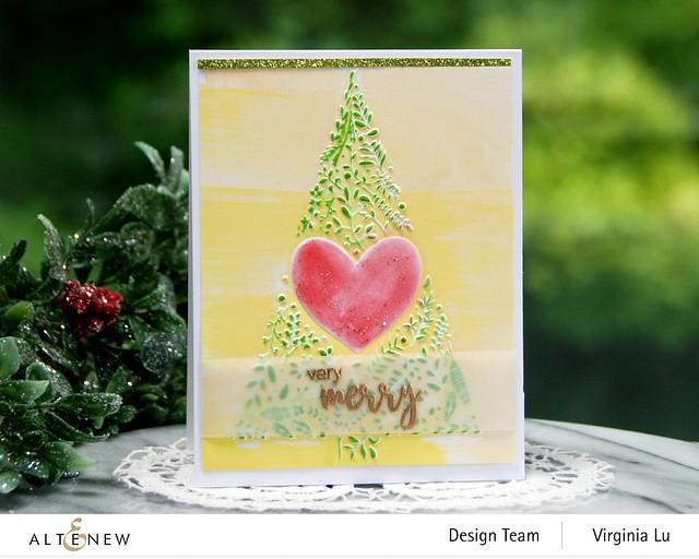 Altenew-Winter Foliage 3D Embossing Folder
