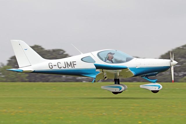 G-CJMF  -  BRM Aero Bristell NG5 SpeedWing c/n LAA 385-15413  -  EGBK 3/9/21