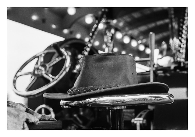 Engine driver's hat