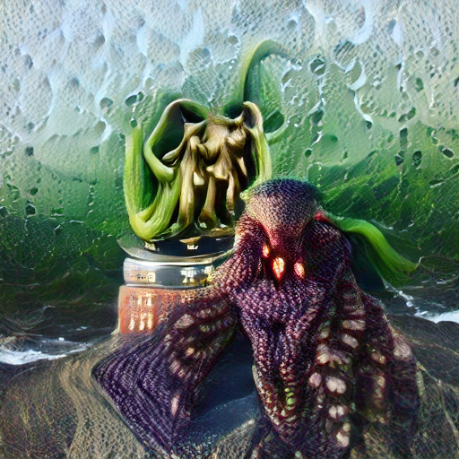 'Cthulhu' Zoetrope 5.5 Text-to-Image