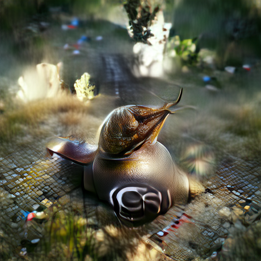 'a snail' Zoetrope 5.5 Text-to-Image