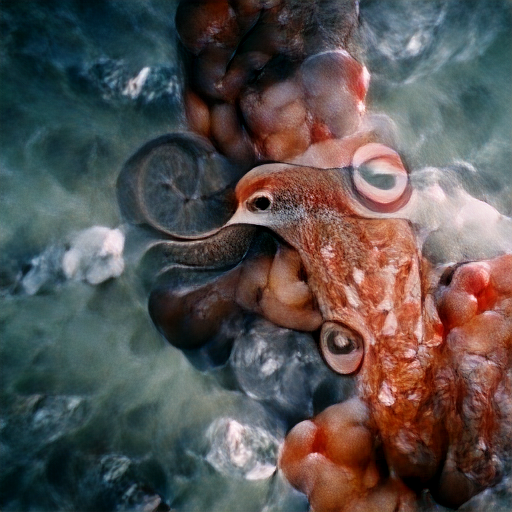 'a cephalopod' Zoetrope 5.5 Text-to-Image