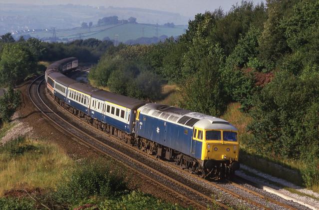 47573 At Buxworth. 11/09/1985.