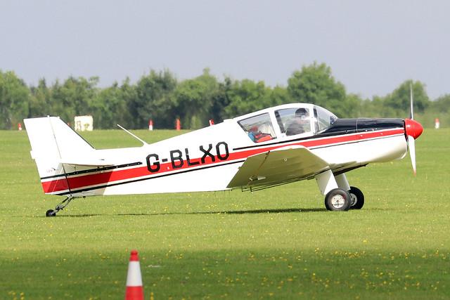 G-BLXO  -  S.A.N. Jodel D.150 Mascaret c/n 10  -  EGBK 3/9/21