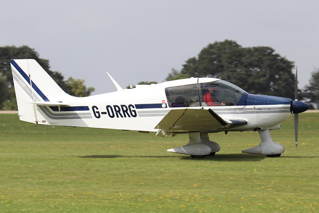 G-ORRG  -  Robin DR.400 180 Regent c/n 1216  -  EGBK 3/9/21