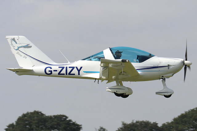 G-ZIZY  -  UL Ultralight TL-2000UK Sting Carbon c/n LAA 347A-15201 -  EGBK 3/9/21