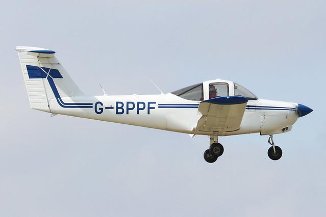 G-BPPF  -  Piper PA-38-112 Tomohawk c/n 38-79A0578  -  EGBK 3/9/21