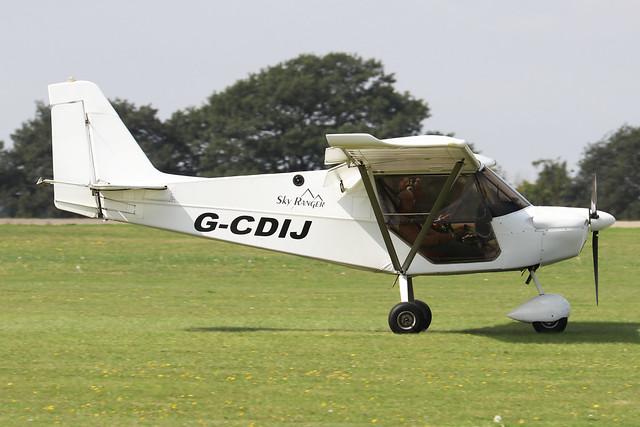 G-CDIJ  -  Best Off SkyRanger 912(2) c/n BMAA/HB/445  -  EGBK 3/9/21