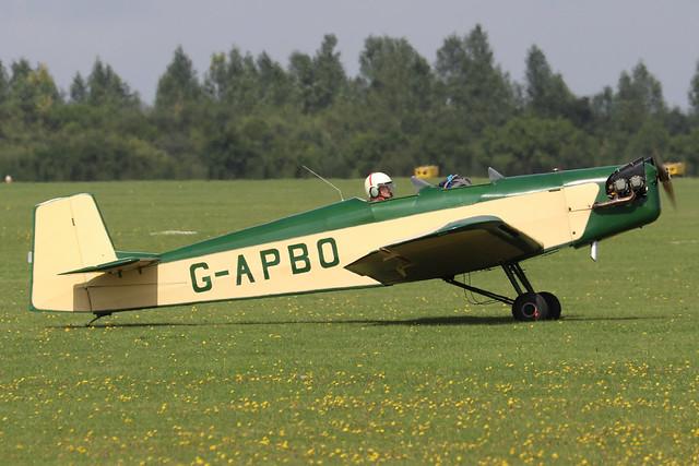 G-APBO  -  Druine Turbi D.53 c/n PFA 229  -  EGBK 3/9/21