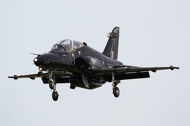 ZK032/FH BAe Hawk T.2 4 FTS 25 Squadron Royal Air Force