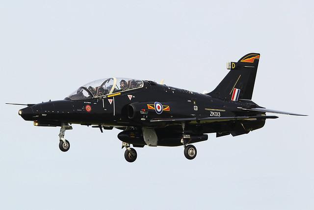 ZK013/D BAe Hawk T.2 4 FTS 4Squadron Royal Air Force