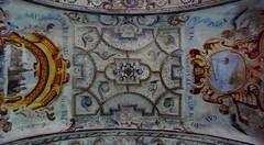 Santuario de Santa Casilda (Briviesca, Burgos, Sp) – Decoración del techo