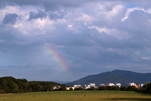 Unexpected rainbow I
