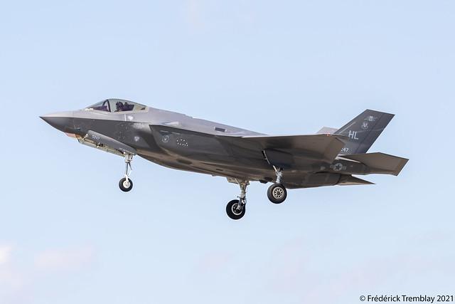 US Air Force (USAF) / Lockheed Martin F-35A Lightning II / 17-5247 / YYZ