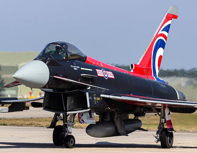 ZJ914 Typhoon FGR4 'Blackjack' | Royal Air Force | BOH/EGHH | 06.09.2021