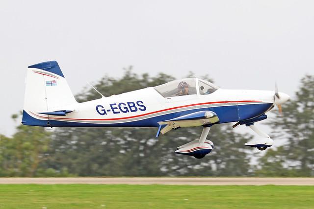 G-EGBS  -  Vans RV-9 A c/n PFA 320-14234  -  EGBK 3/9/21
