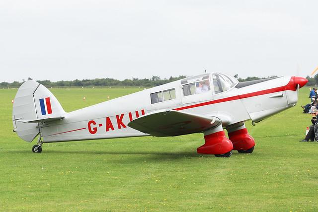 G-AKIU  -  Percival Proctor 5 c/n Ae.129  -  EGBK 3/9/21