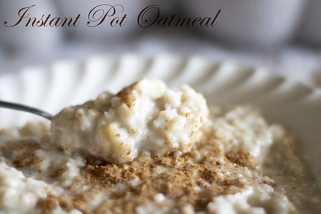Instant Pot Oatmeal