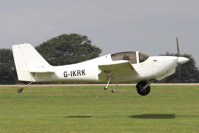 G-IKRK  -  Europa Aviation Europa c/n PFA 247-12903  -  EGBK 3/9/21